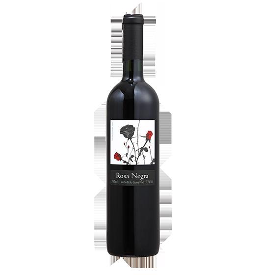 Promoção pague 5 leve 6 - Rosa Negra Tinto 2016   - Vinícola Cave de Pedra