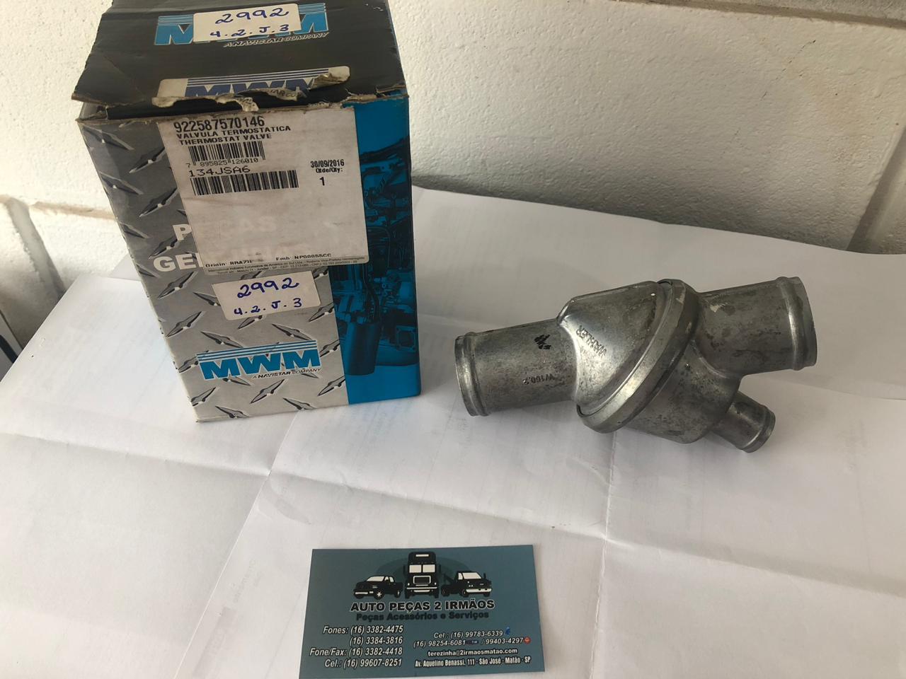 Valvula Termostatica MWM 229 F1000 VW 13130 922587570146