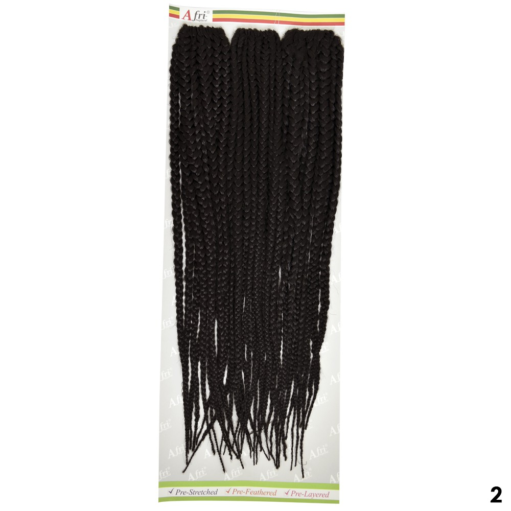 Aplique Trançado 3X Box Braids - Fashion Line