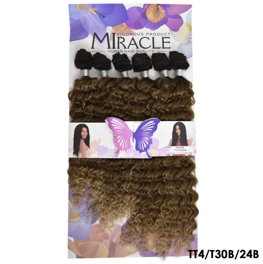 Aplique Cacheado Irene - Sleek - Miracle