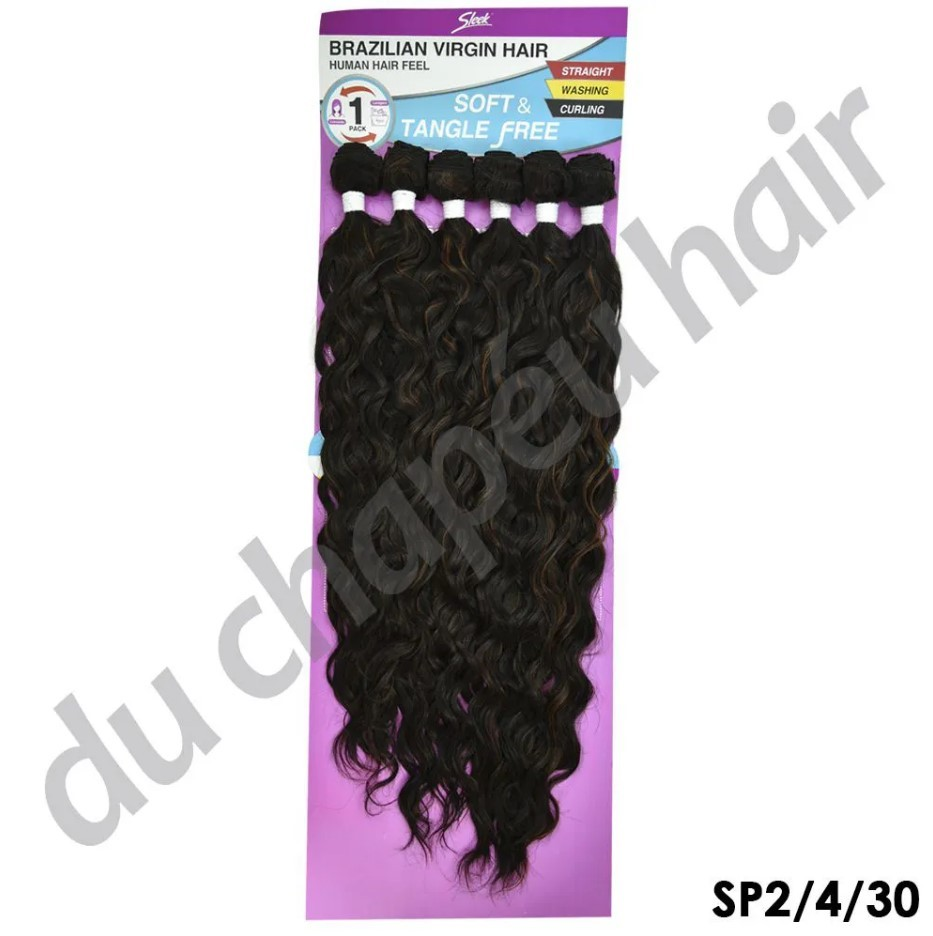 Aplique Ondulado Ariana - Sleek -Brazilian Virgin Hair