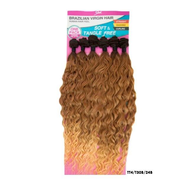 Aplique Ondulado Ariana - Sleek -Brazilian Virgin Hair