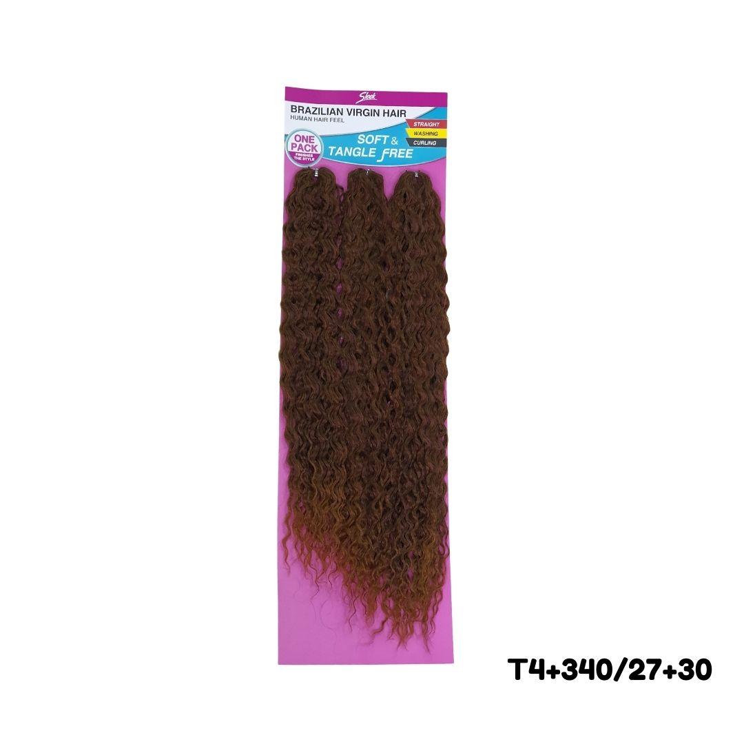 Cabelo Bio Fibra cacheado Granada  Crochet - Brazilian Virgin hair - Sleek