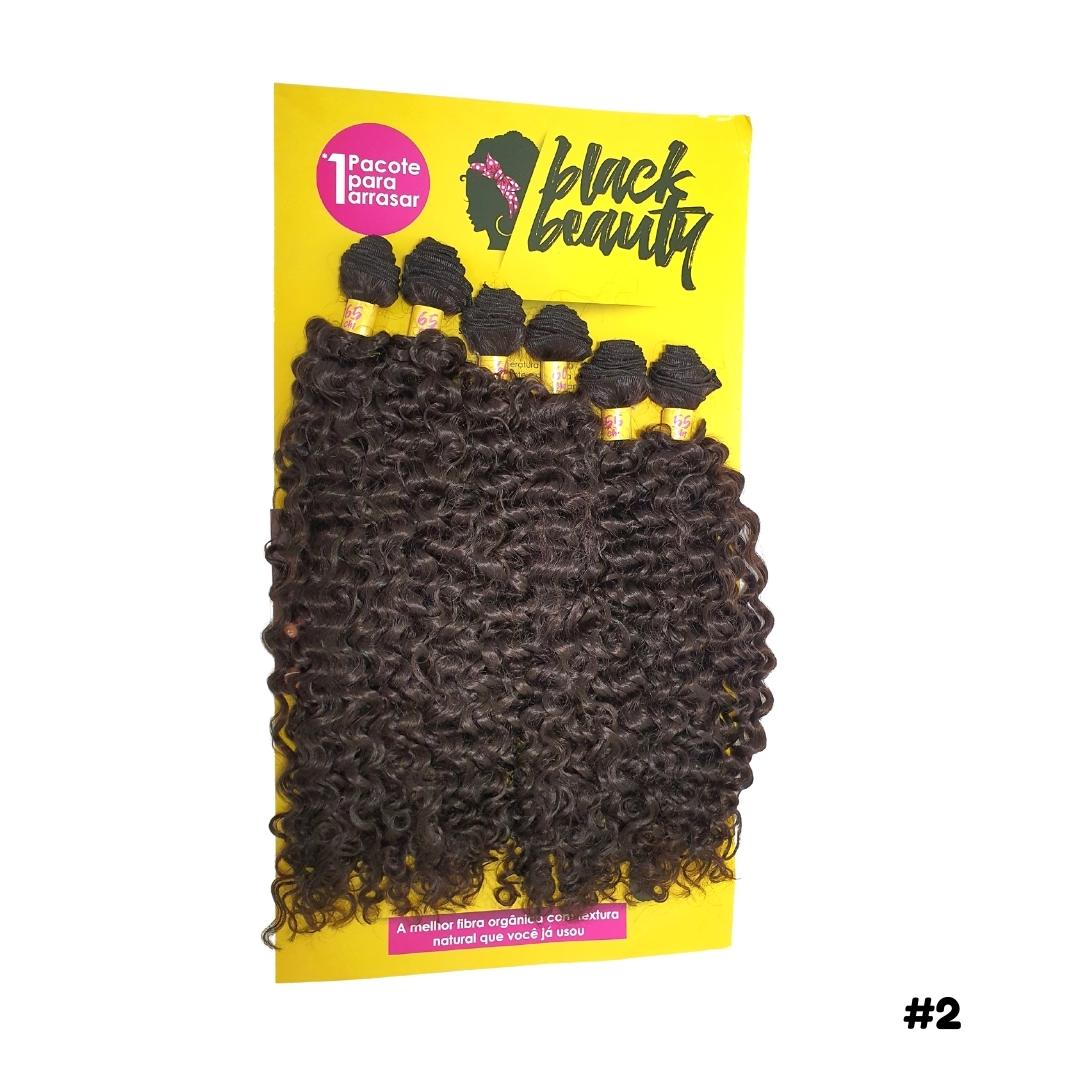 Cabelo Cacheado Cacho 2 - Black Beauty