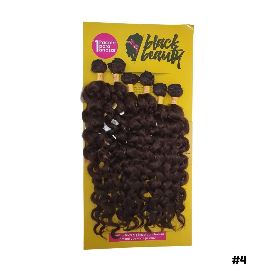 Cabelo Cacheado Cacho 4B -  Black Beauty