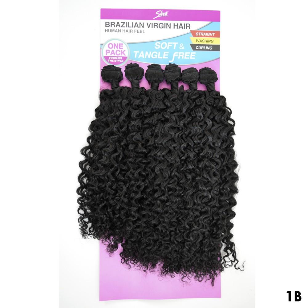 Cabelo Cacheado Leila - Sleek - Brazilian Virgin Hair