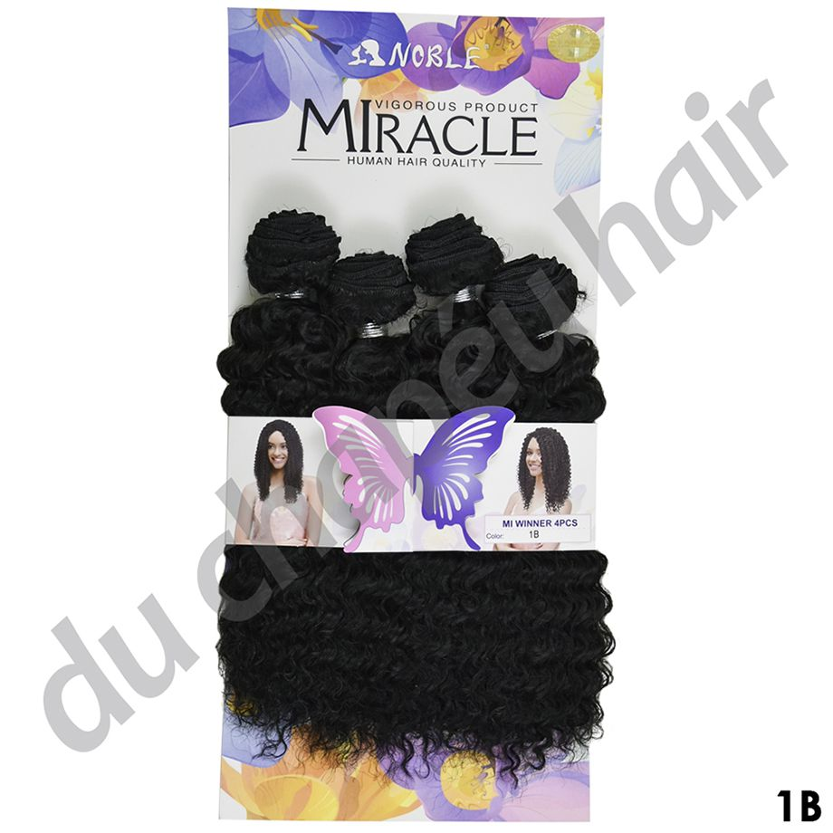 Cabelo Cacheado Mi Winner - Sleek  - Miracle