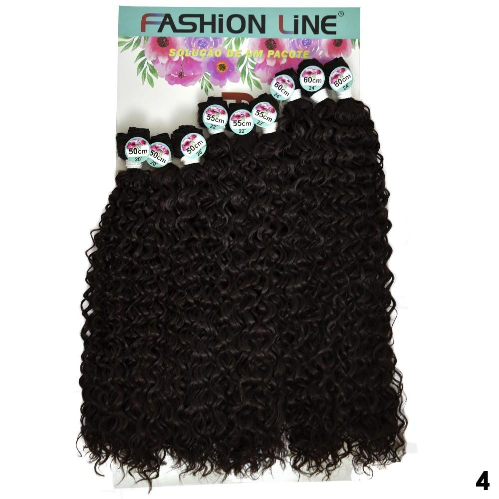 Cabelo Cacheado O'linda - Fashion Line