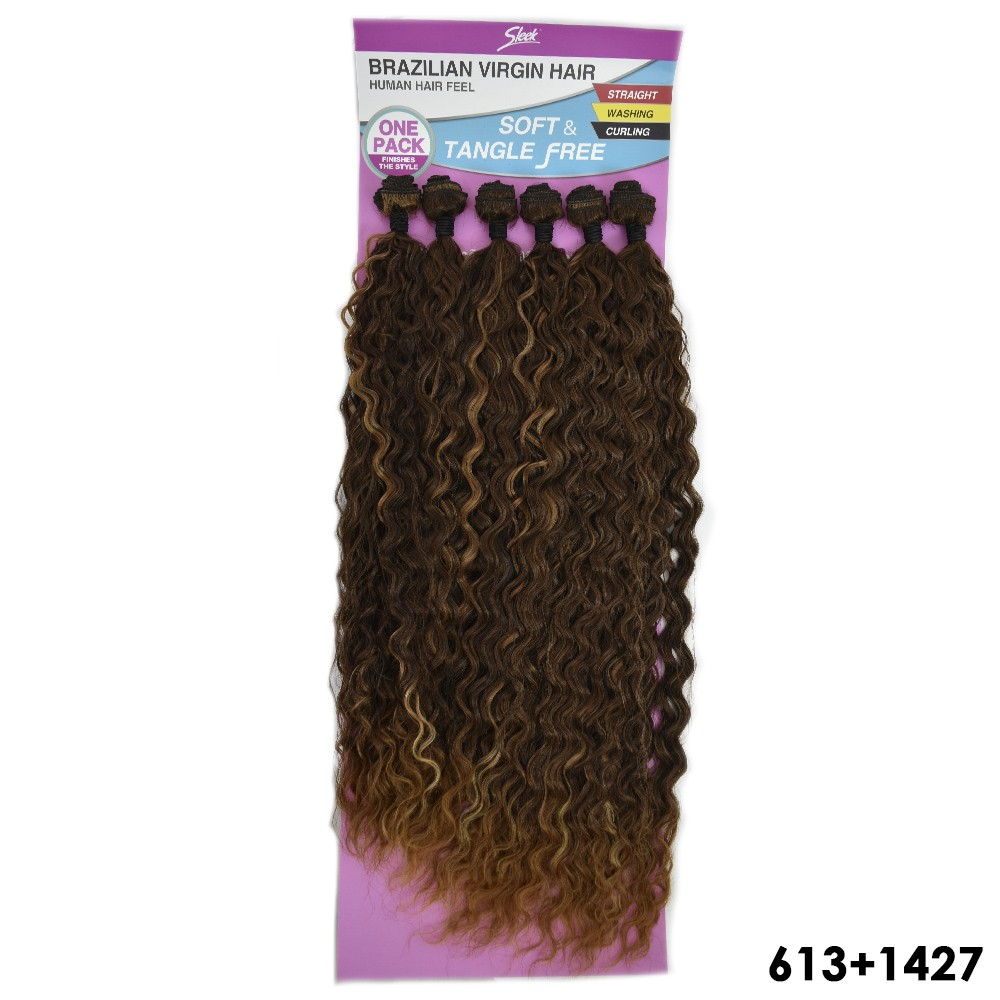 Cabelo Cacheado Selena - Sleek - Brazilian Virgin Hair