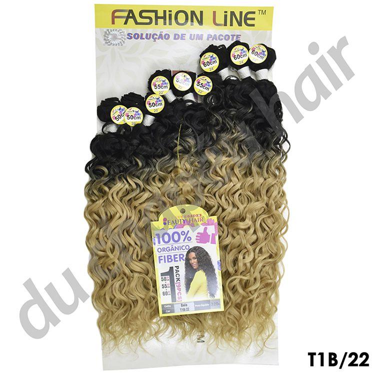 Cabelo fibra orgânica -fashion line-Bela