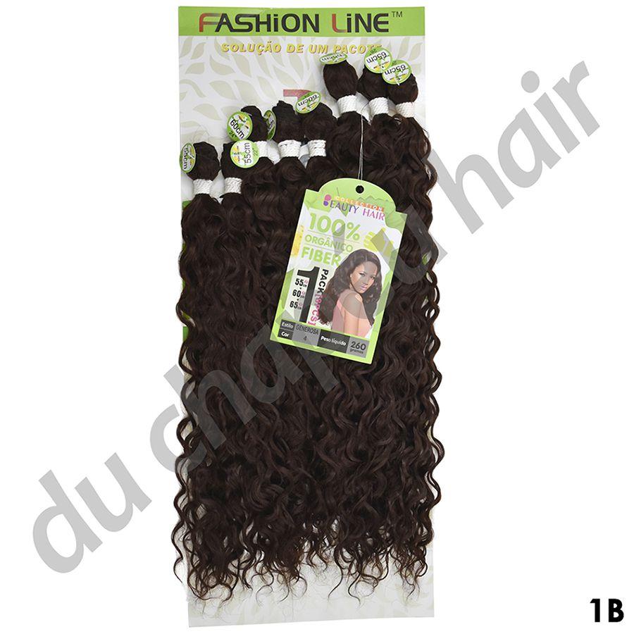 Cabelo fibra orgânica -fashion line-Generosa