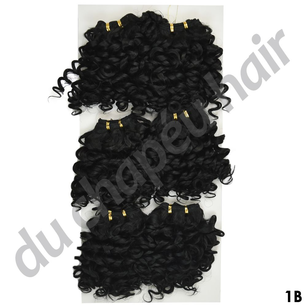 Cabelo fibra orgânica Fashion Line - Jade