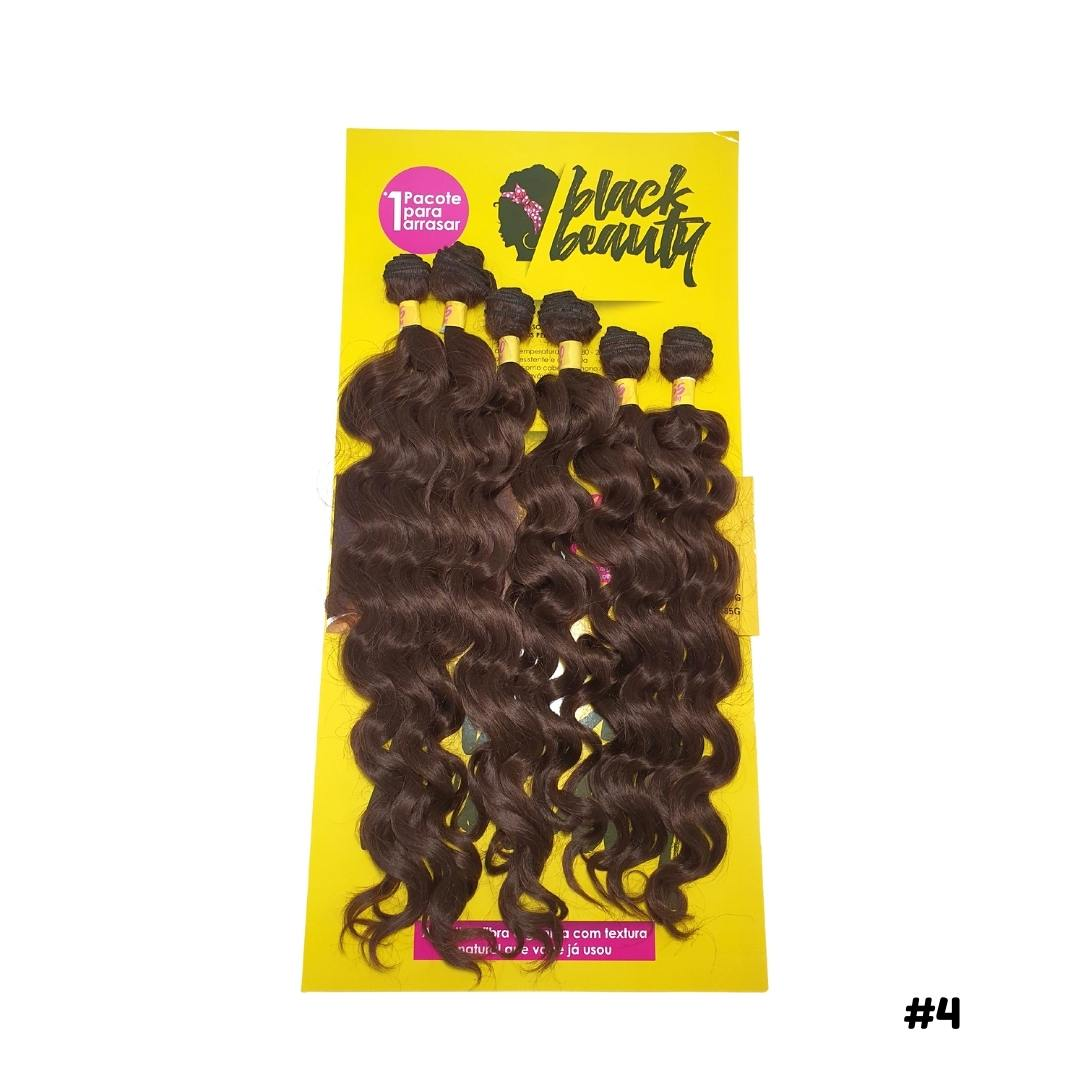 Cabelo Ondulado  Cacho 5B - Black Beauty