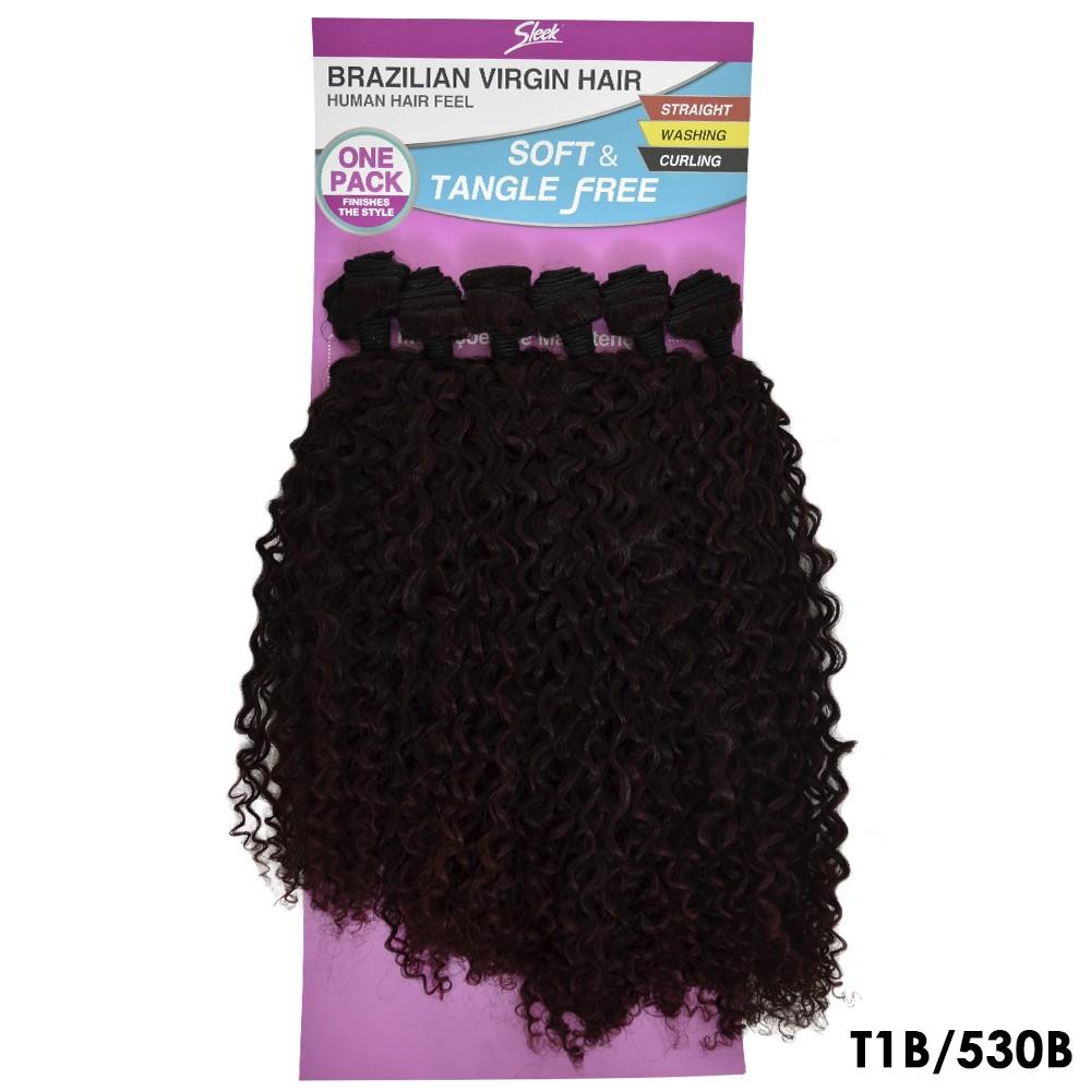 Cabelo Orgânico Leila - Sleek - Brazilian Virgin Hair