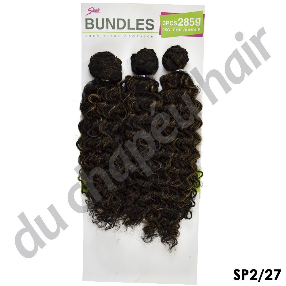 Cabelo orgânico - Sleek Bundles - Angela