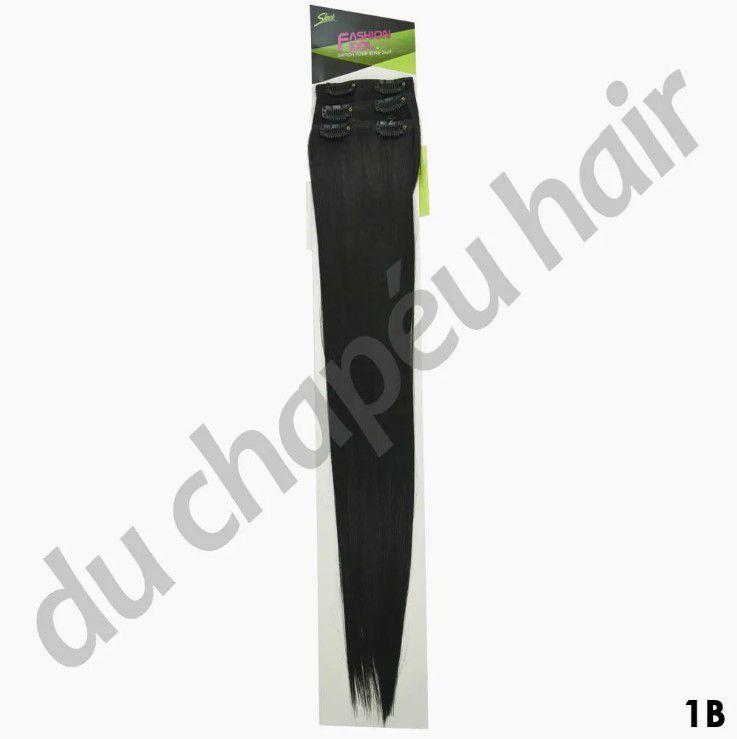Cabelo orgânico - sleek - Mulher Doce (COR 1B)