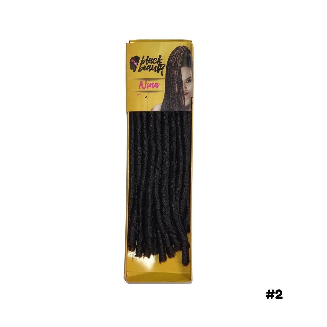 Cabelo Sintético Nina 70 G - Black Beauty