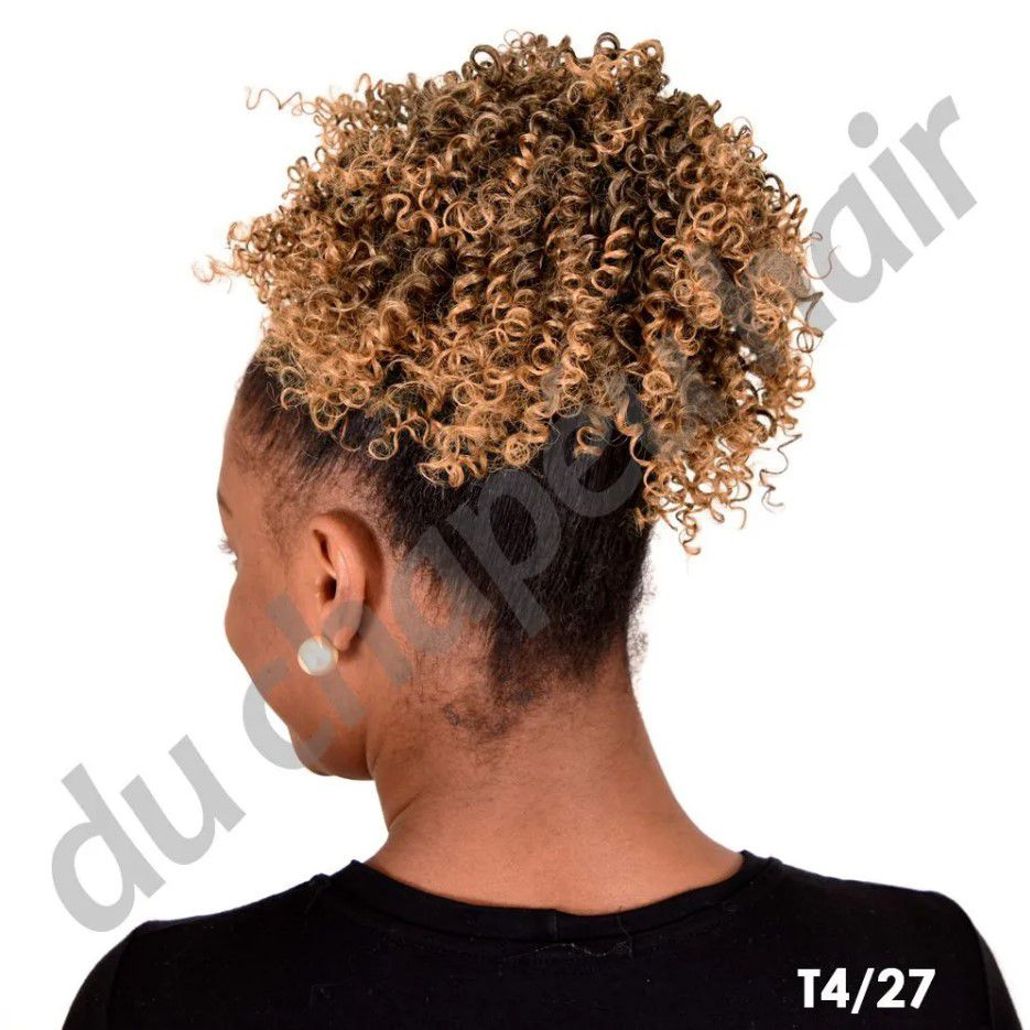 Coque Afro Puff- Cherey