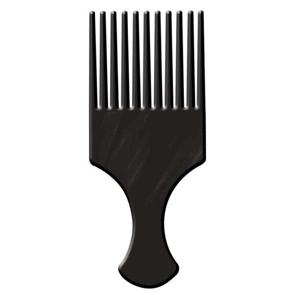 Pente Afro com Dentes Largos
