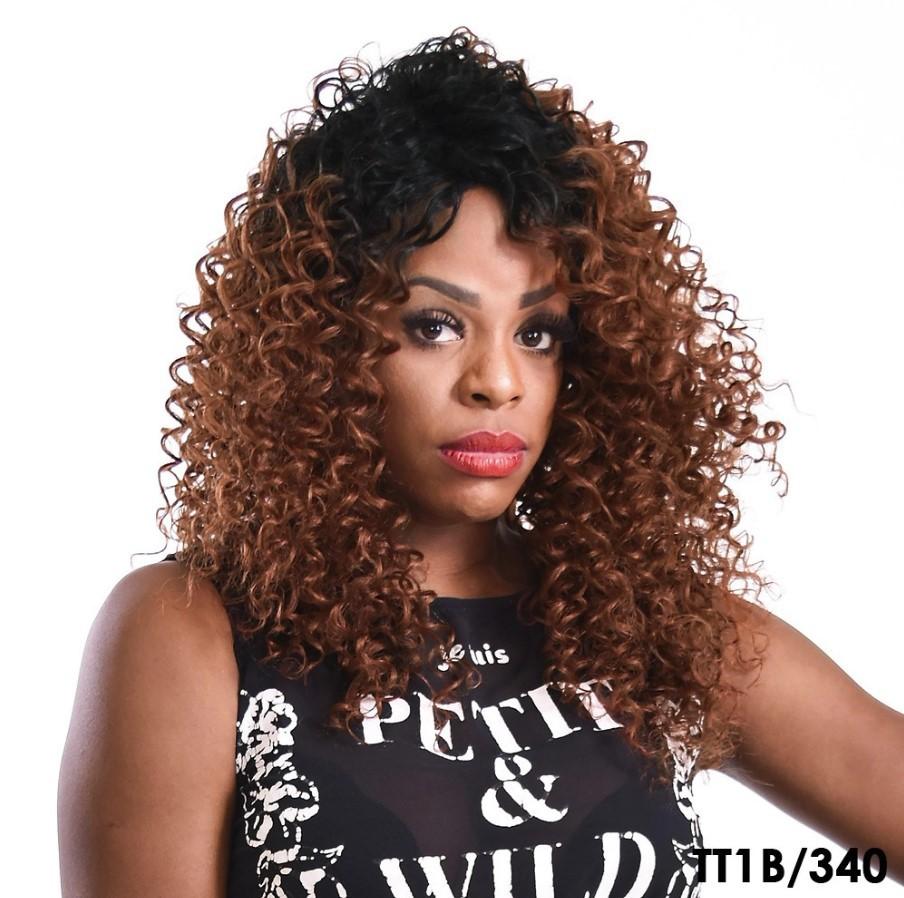 Peruca Wig Cacheada Paloma - Sleek - True Me