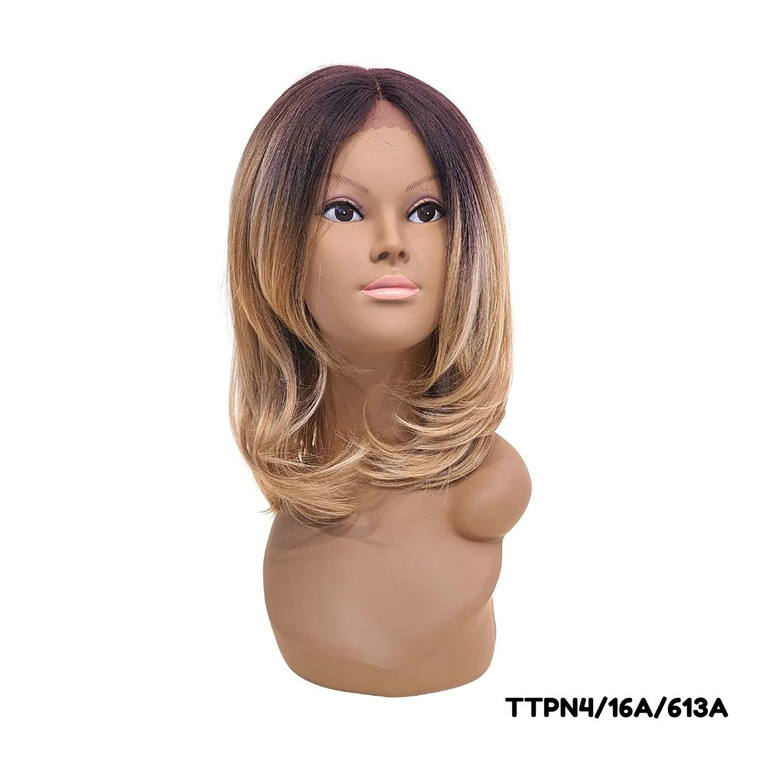 Peruca Sleek Front Lace- Sandy Wig