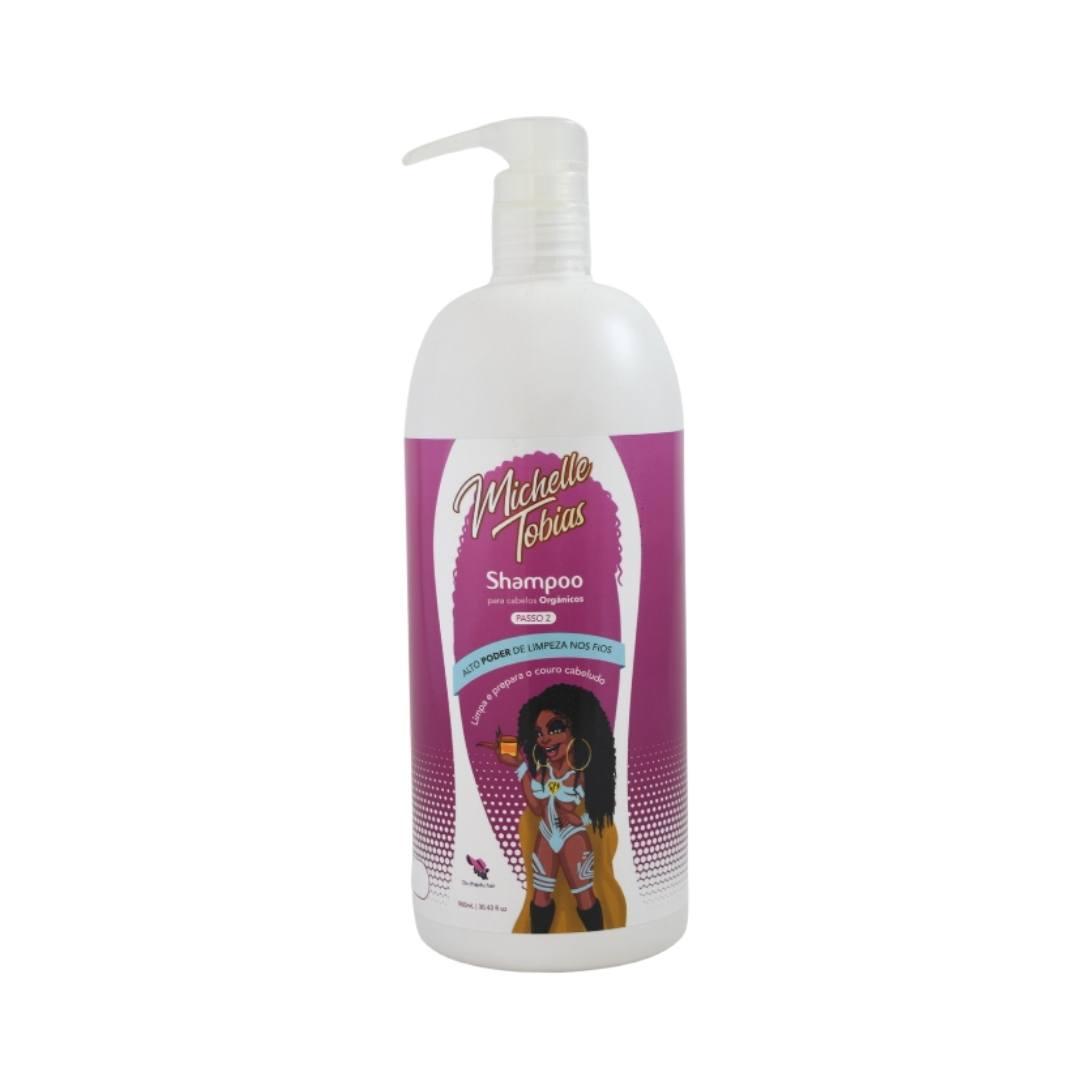 Shampoo 900 ML para fibra orgânica linha lavatório -  Michelle Tobias