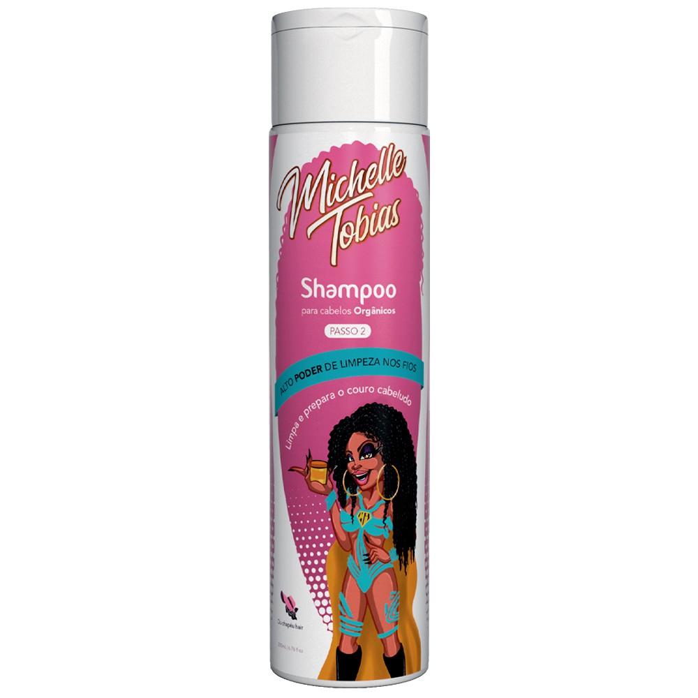 Shampoo Michelle Tobias Para Fibra Orgânica