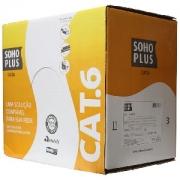 CABO DE REDE CAT6 CMX AZUL 305 MTS