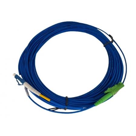 CORDAO OPTICO LC/PC-E2000/APC SX 20MTS