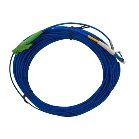 CORDAO OPTICO LC/PC-E2000/APC SX SM 15MTS