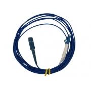 CORDAO OPTICO LC/PC-SC/PC SX SM 2MM 3MTS