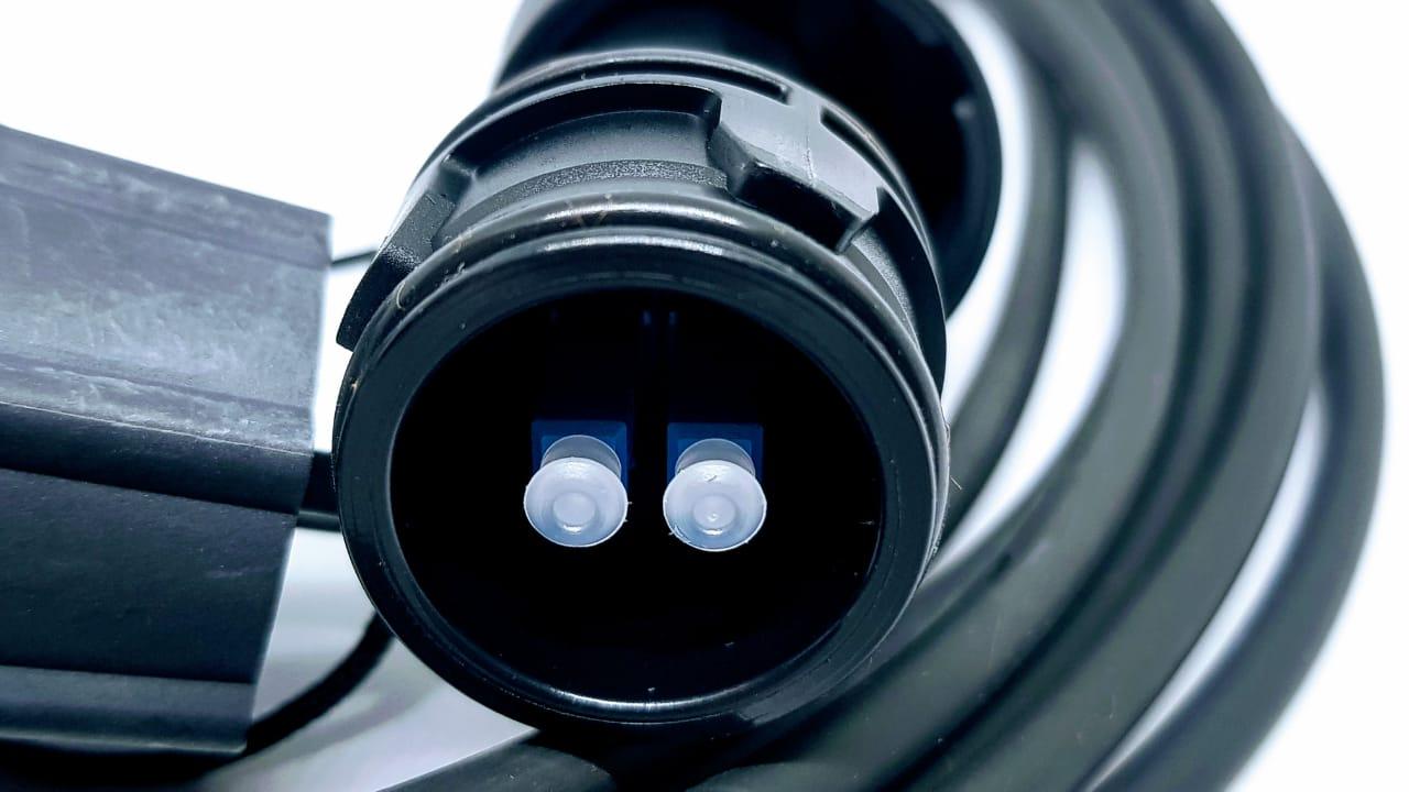 CABO DE FIBRA OPTICA EXTERNA LC/PC-LC/PC SM 2FO 50MT C/ PROTECAO