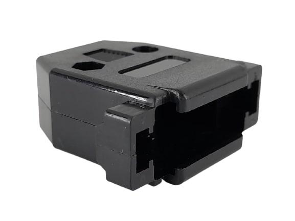 CAPA CONECTOR DB15 PRETO