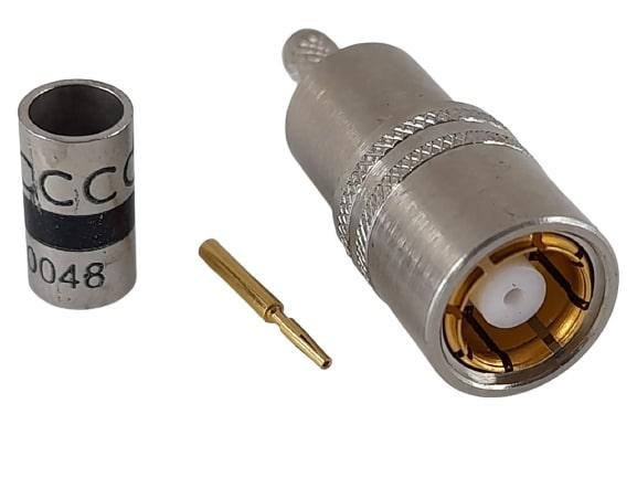 CONECTOR BT43 FEMEA RETO 0,3X1,8 CRIMP