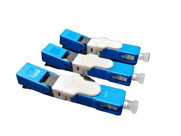 CONECTOR DE FIBRA OPTICA FAST SC/UPC CLICK