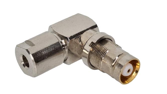 CONECTOR IEC FEMEA ANGULAR 0,3X1,8 SOLDA