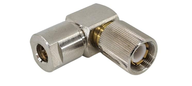 CONECTOR IEC MACHO ANGULAR 0,4X2,5 SOLDA
