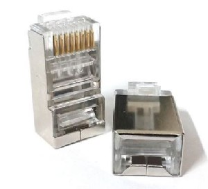 CONECTOR RJ45 CAT5E MACHO BLINDADO