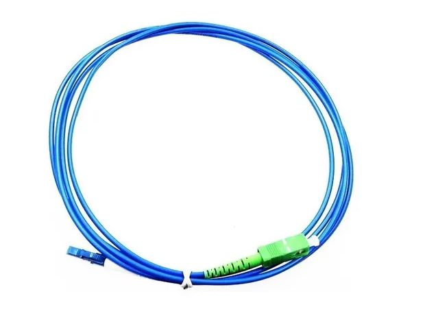 CORDAO OPTICO LC/PC-SC/APC SX SM 2MM 2MT