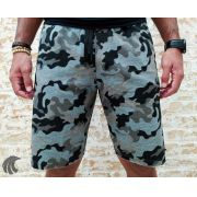 Shorts Moletom Federal Art Camuflaged