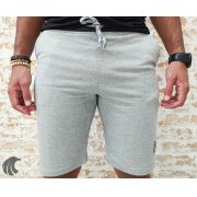 Shorts Moletom Federal Art Gray Style