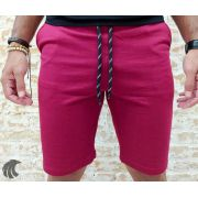 Shorts Moletom Federal Art Red