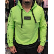 Blusa Moletom Kawippi Verde Neon