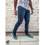 Calça Austin Skinny Destroyed Blue