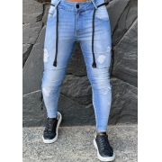 Calça Codi Jeans Skinny Azul Claro Two