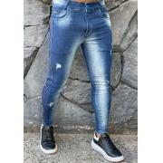 Calça Codi Jeans Skinny Azul Linha Lateral