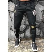 Calça Codi Skinny Preta Jeans Wear