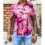CAMISA GRACE PINK FLOWERS