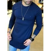 Camisa Manga Longa M Artt Azul