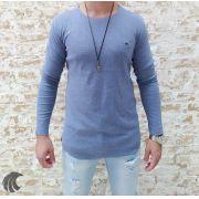 Camisa Manga Longa M Artt Azul Claro